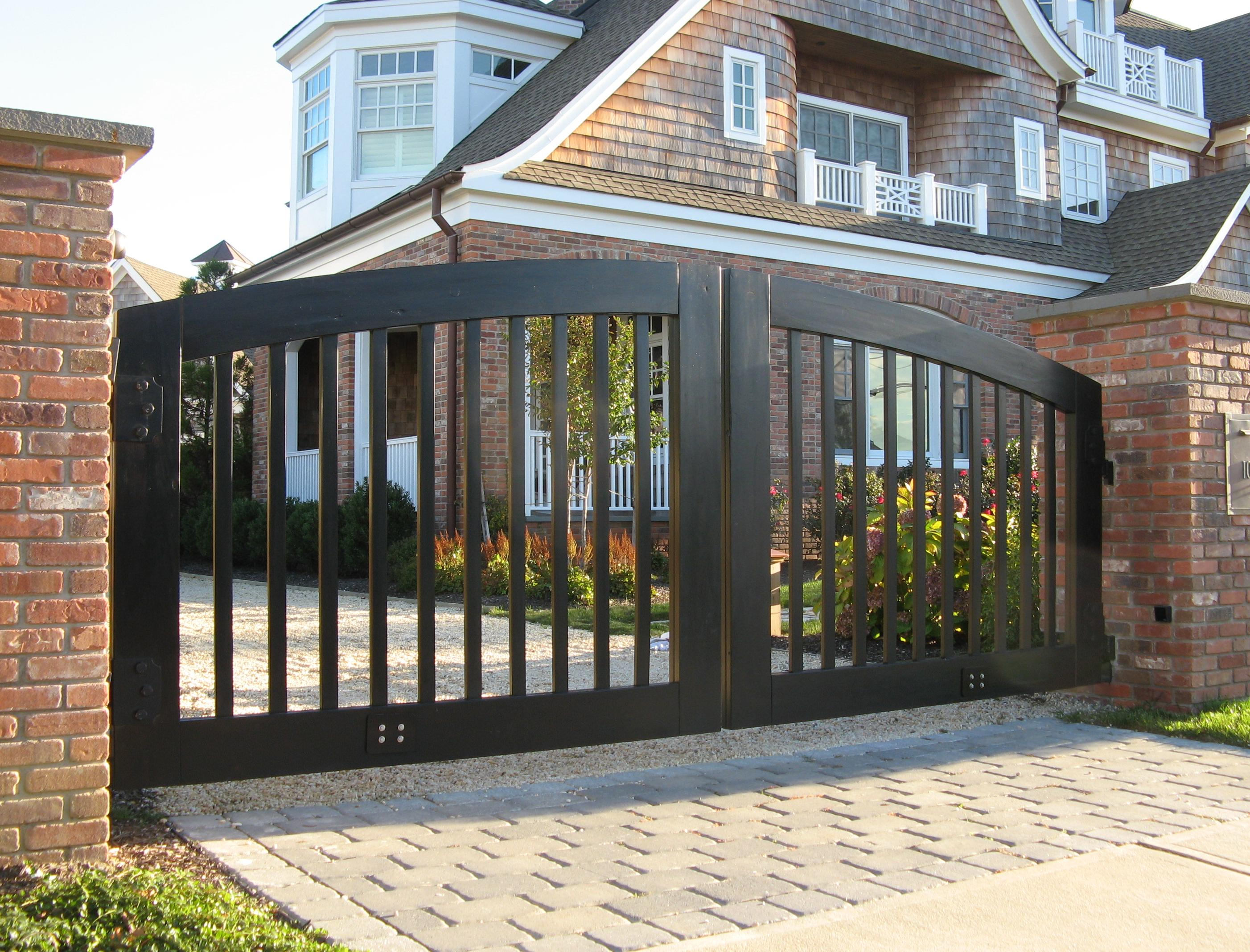 Simple front gate designs for houses joy studio design for Home gate design